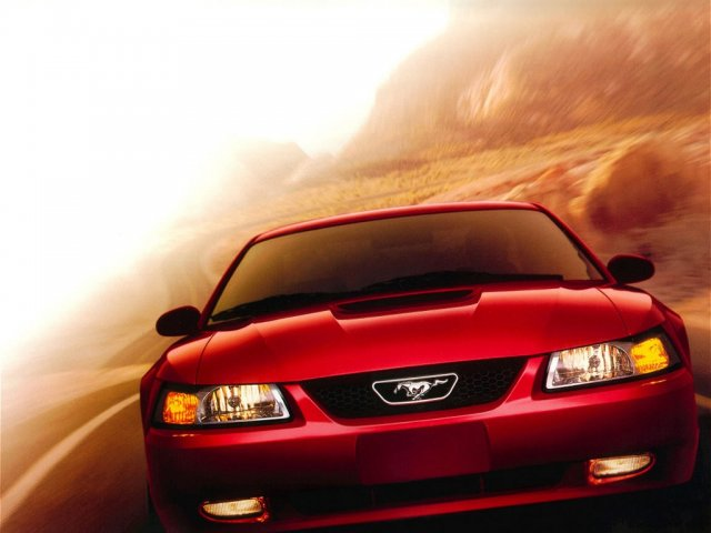 ford mustang new red - 1024x768